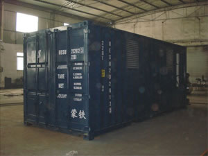 Storage Containers and Trailer Skids